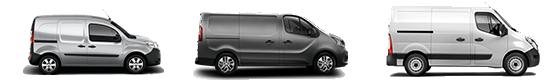 vehículos nuevos Renault comerciales