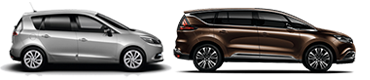 vehículos nuevos Renault monovolumen