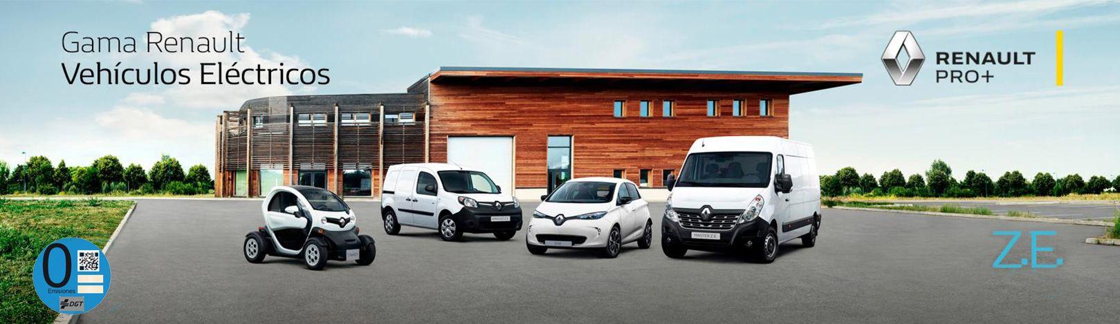 Gama Renault Vehículos eléctricos